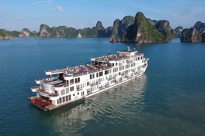 Combo Nghỉ Dưỡng Du Thuyền Hạ Long President Cruises 5 Sao