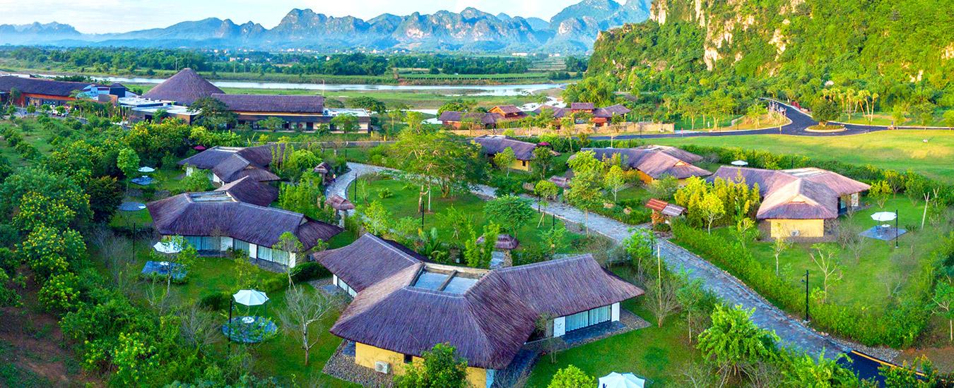 Voucher nghỉ dưỡng tại Serena Kim Bôi Resort Hòa Bình 4 sao