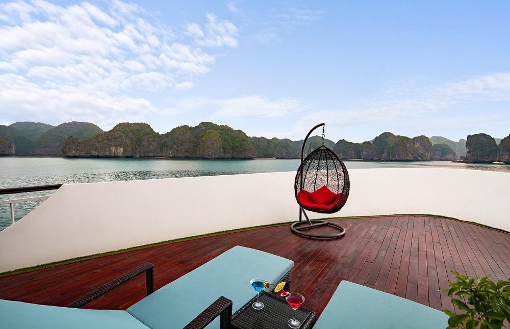 Combo Nghỉ Dưỡng Du Thuyền Hạ Long Dora Cruise 5 Sao