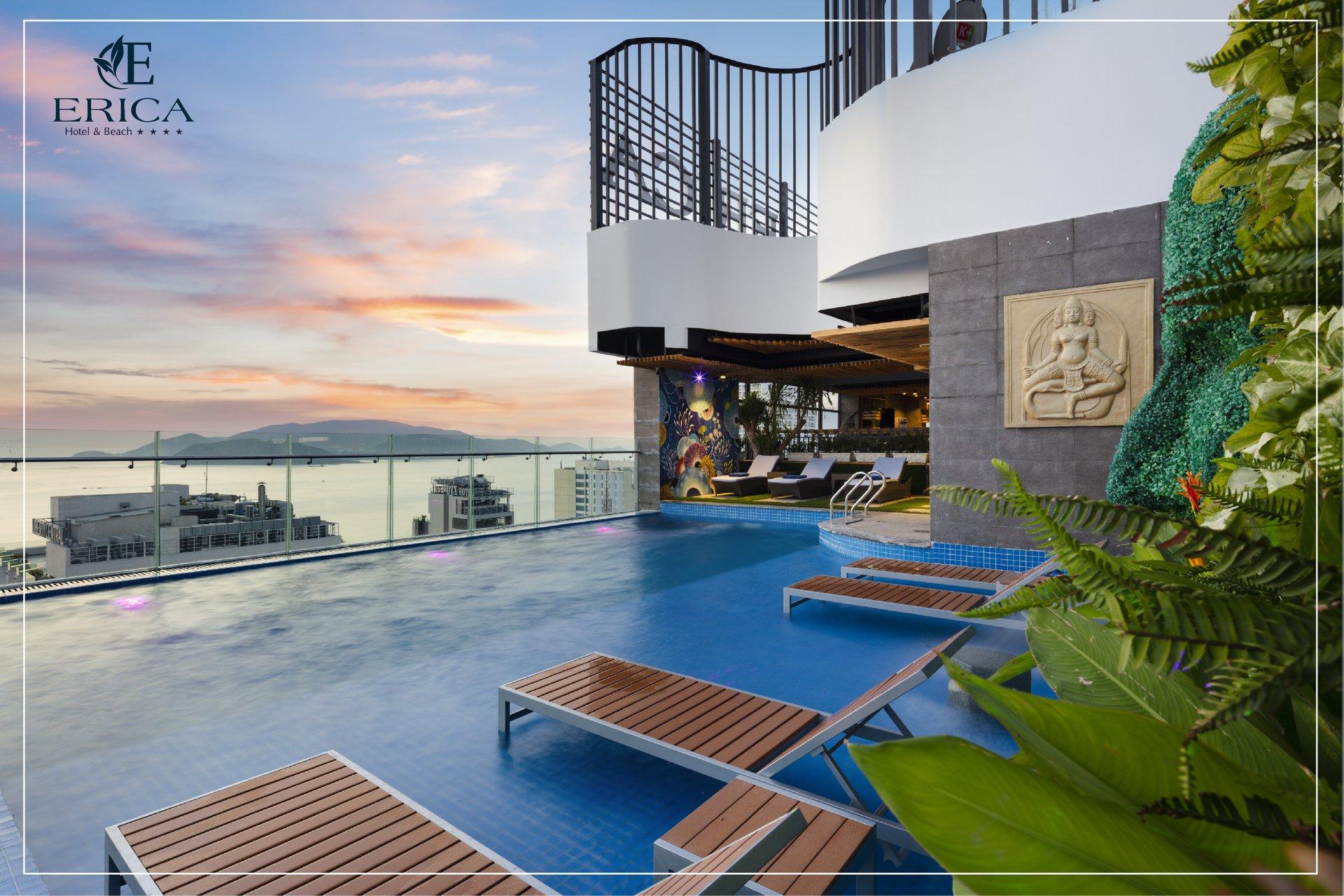 Hà Nội – Nha Trang tại Erica Hotel & Beach tiêu chuẩn 4 sao
